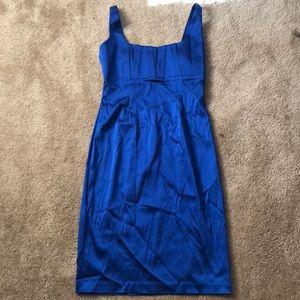 NWT Blue Calvin Klein Dress. Size 2